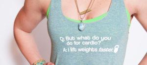 geen cardio - maar kracht
