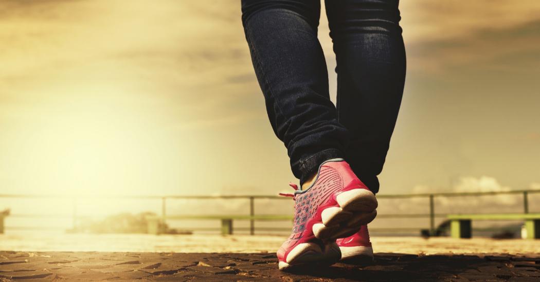 vetpercentage verlagen met wandelen