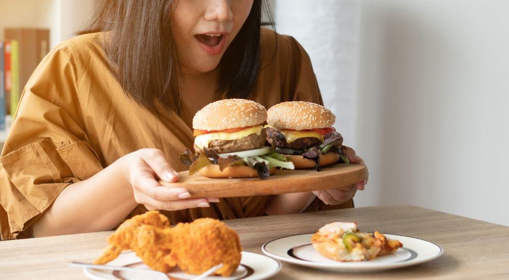 Slecht eten is een gevolg van.... 1